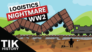 Why the German Army couldn't overcome their bad logistics