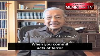 Former Malaysian PM Mahathir Mohamad: Muslims Should Attack Israelis, Not Europeans or Americans