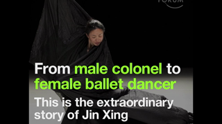 From male colonel to female ballet dancer This is the extraordinary story of Jin Xing