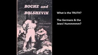 freemasonry and satanism, book review 42 pt 1, BOCHE (germans) and the Jews