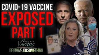 """PART 1: Federal Govt HHS Whistleblower Goes Public With Secret Recordings """"Vaccine is Full of Sh*t"""""""