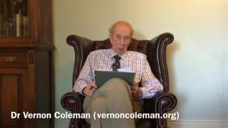 Dr. Vernon Coleman - Nobody is Coming to Save Us! (20th September 2021)