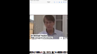 Dr. MICHAEL YEADON PHD. IN RESPIRATORY PHARMACOLOGY Explain about immunology's