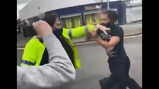 Cops Attack Owner Of Kate & Luc's Cafe, Manchester