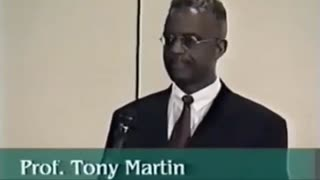 Dr. Tony Martin Exposes The Jewish Slave Trades of Africans