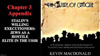 The Culture of Critique - Ch 3 - Appendix - Stalin's Executioners: Jewish Elite in the USSR