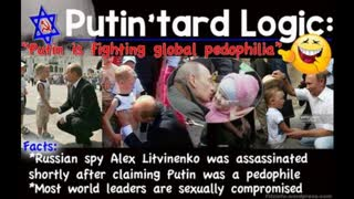 Putin accused of pedophilia after kissing five-year-old boy's belly