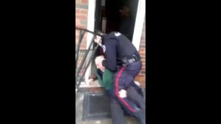 Canadian COVID Cops Beat Up Elderly Man JEW WORLD ORDER IS HERE!  2021 is 1917