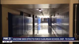 HOW MUCH TIME DO YOU REALLY HAVE?  SO MANY TEACHERS SICK AFTER VACCINE, SCHOOLS FORCED TO CLOSED.