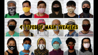 4 Types of Mask Wearers