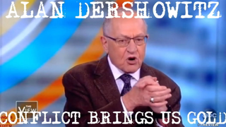 ALAN DERSHOWITZ: WE CAN PROFIT FROM LIES (ON THE VIEW)
