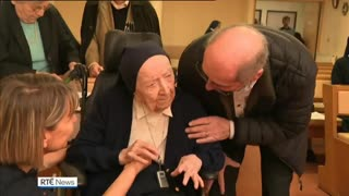 116-Year-Old French Nun Beats Covid-19
