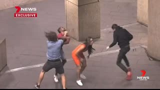 NIGGER GETS KNOCKED OUT WHITE DUDE WHO DEFENDED GIRLFRIEND IS CLEARED OF CHARGES