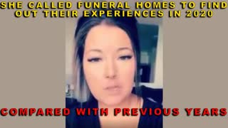 She Called Funeral Homes To Find Out Their Experiences In 2020, Compared With Previous Years