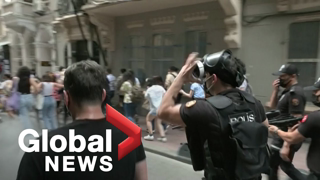 FEELGOOD NEWS: Turkish police fire tear gas to break up banned Istanbul Pride march