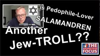 Is the Pedo-Lover SALAMANDREN Just Another Jew-TROLL??