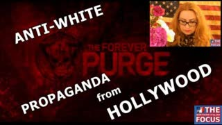 """STRONG ANTI-WHITE PROPAGANDA in the movie """"The FOREVER PURGE"""""""