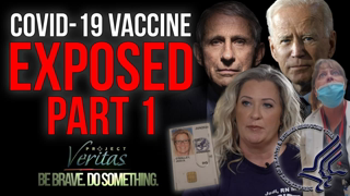 """Federal Govt HHS Whistleblower Goes Public With Secret Recordings """"Vaccine is Full of Sh*t"""""""