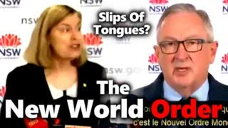 New World Order Freudian Slips Of Tongues Compilation: The New Satanic Normal