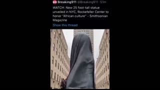 New monument in NYC -