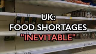 """UK: Food Shortages 'Inevitable' - """"The real food crisis for food supplies starts now."""""""