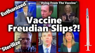 Compilation of Freudian Slips about vaccines...that ol truth just slips out before you know it.