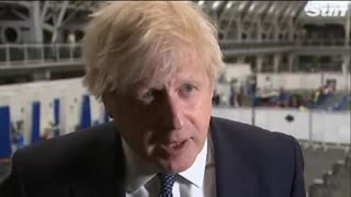 FAT LITTLE BLOATED J£W BORIS JOHNSON MAKING THREATS & ORDERING BRITS WHERE THEY CAN GO FOR A HOLIDAY