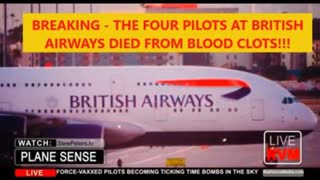 Leaked Airline Documents Reveal Blood Clots Killed The 4 British Airways Pilots and there is more...