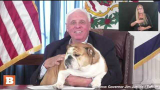 """WV Governor: """"If You Won't Do It for Your Family, You've Got to Get Vaccinated for Babydog"""""""