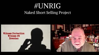Naked Short Selling Anonymous Source #2 - Brendan on the Ecology of Wall Street Financial Crime