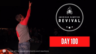 Day 100! Kirk Cameron's American Campfire Revival Day 100 Live Event