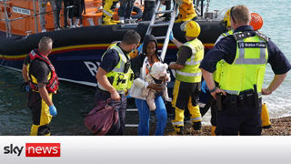 """White """"Dindu nuffins"""" just watch it happen. Record 1,000+ migrants cross English Channel in single day. DON'T BLAME THE MIGRANTS BLAME THE POLITICIANS."""
