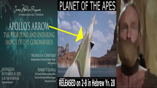 WE ARE the Planet of the Apes! Apollo's Arrow, Facemasks, Time Travel, Copper & Polio V1rus