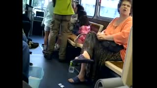 Jewess Says Serve the Jews or Die on California Bus