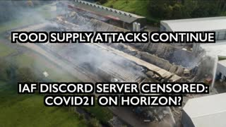 Censorship, Isolation Camps, Food Supply Attacks & End of Animal Agriculture