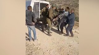Israeli soldier kills a Palestinian during attempt to confiscate (steal) a generator