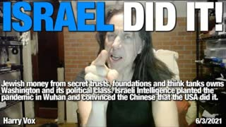 """ISRAEL DID IT! - The REAL origins of the """"China"""" virus. (Hint: It's the Jewish virus my friends)"""