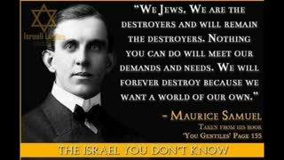THE JEWISH PLANNED ANNIHILATION OF THE GENTILE RACES