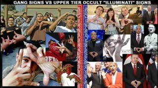 HOW MAJOR STREET GANGS ARE CONNECTED WITH FREEMASONRY GANG SIGNS AND SYMBOLISM