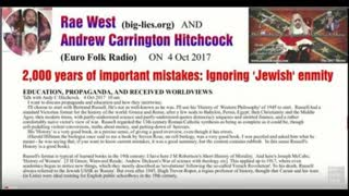 RAE WEST DISCUSSES MILES MATHIS PEOPLE WEBSITE WITH ANDREW CARRINGTON HITCHCOCK